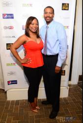 Ashley Bishop, and her husband Praylo Ivory